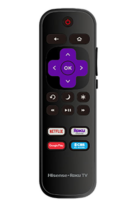 65R6109 noinsert ROKU REMOTE website