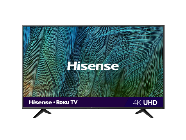 "(2019) 65"" 4K UHD Roku Smart TV"