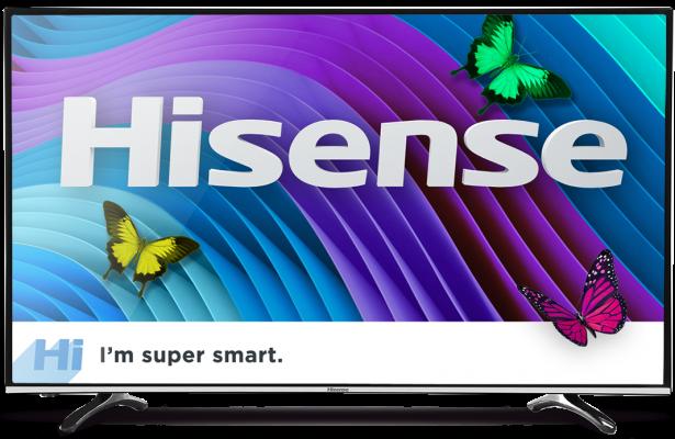 Hisense H43M3000 TV HeroShot Front