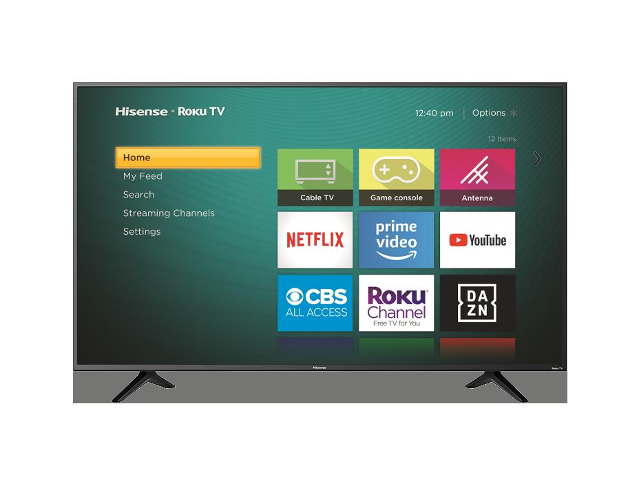 Hisense TV R6209 Main UI