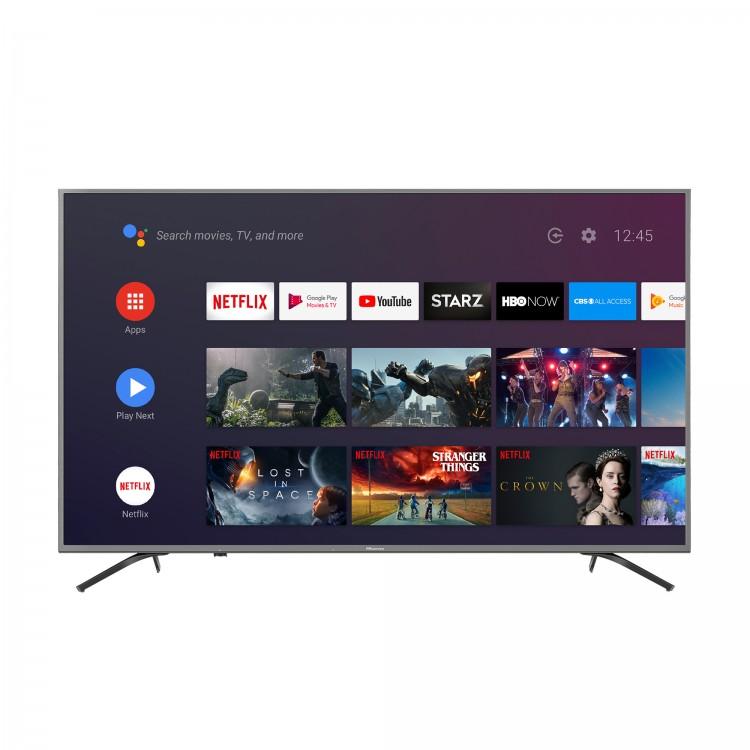 Hisense TV Q7809 Main androidtv ui