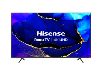 "(2020) 75"" 4K UHD Smart Roku TV with Dolby Vision™ & HDR10"