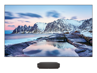 "100"" 4K HDR Smart Android Laser TV"
