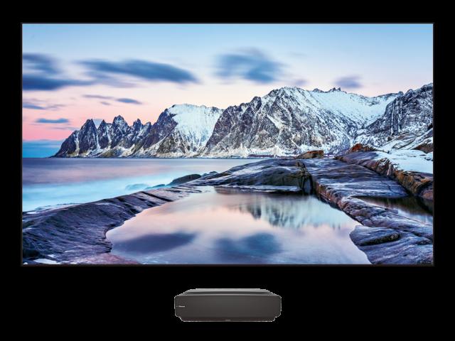 Téléviseur Laser Android 4K HDR 100 po