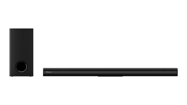 2.1 Channel Soundbar with Wireless Subwoofer