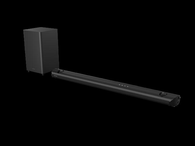 5.1.2 canaux avec les technologies Dolby Atmos® avec caisson de basses sans fil