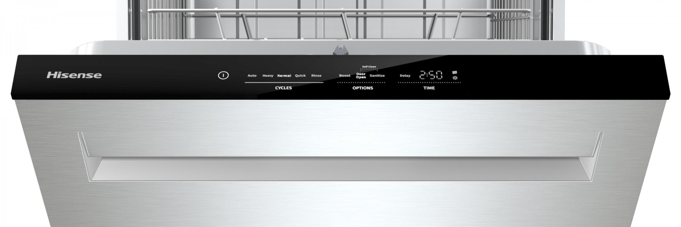 Hisense HUI6220XCUS top controls