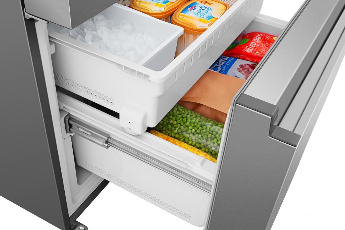 RF26N6AFE full angle freezer open