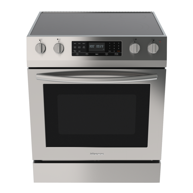 (2020) 4.9 cu.ft. Front Control Freestanding Electric Range