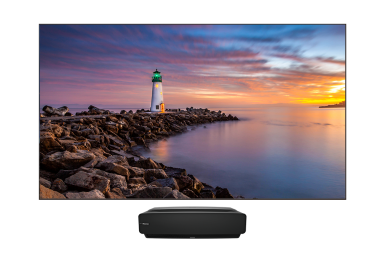 "120"" 4K HDR Smart Android Laser TV"