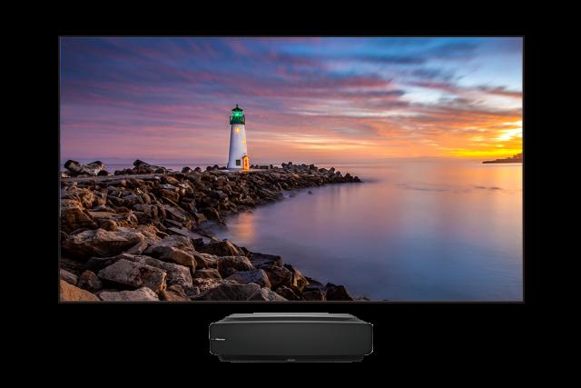 Téléviseur Laser Android 4K HDR 120 po