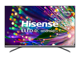 (2021) U9DG 4k Duel Cell ULED™ Quantum Dot Android TV 75 po