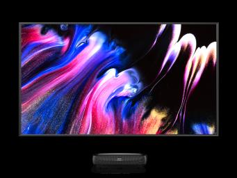 "100"" 4K HDR Trichroma Laser TV"