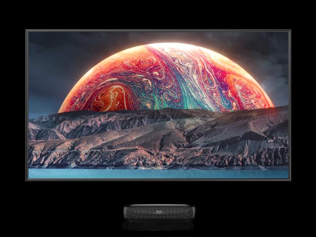 "120"" 4K HDR Trichroma Laser TV"