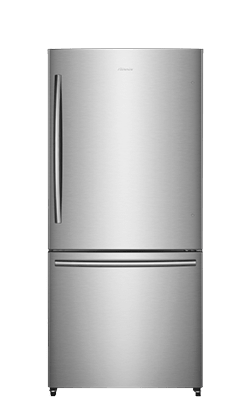 17.0 cu.ft. Counter-Depth Bottom Mount Refrigerator (Stainless)