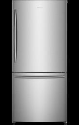 17,0 pi³ Réfrigérateur à Profondeur de Comptoir avec Congélateur Inférieur (Inox)