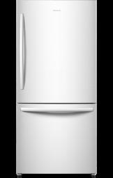17.0 cu.ft. Counter-Depth Bottom Mount Refrigerator (White)