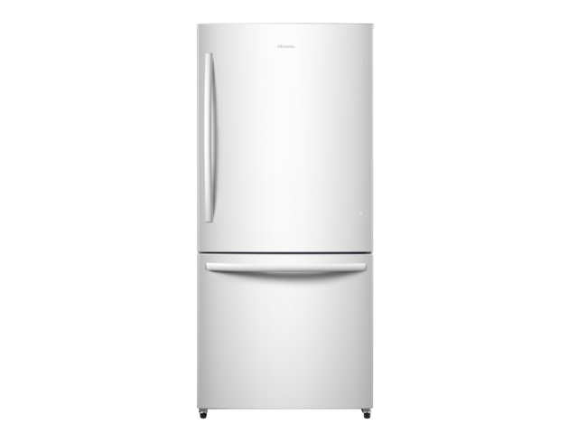 17.0 cu.ft. Counter-Depth Bottom Mount Refrigerator (White)