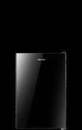 4.4 cu.ft. Black Glass Door Compact Refrigerator