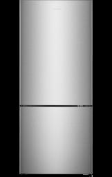 14,8 pi³ Réfrigérateur avec Congélateur Inférieur (Inox)