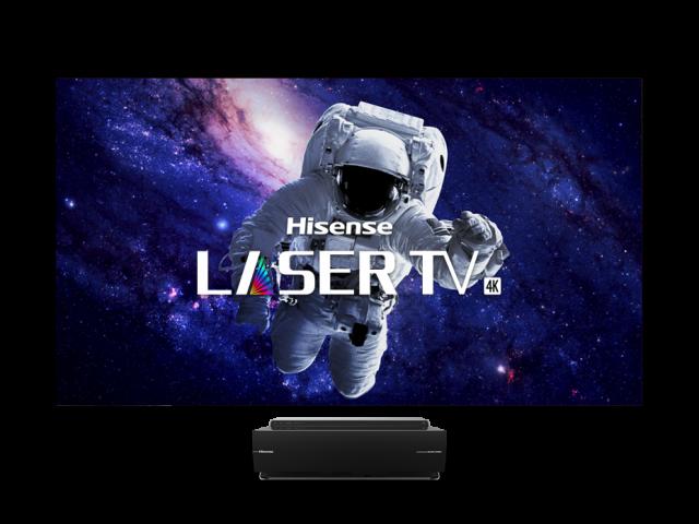 Téléviseur laser bicolore intelligent 4K UHD 100 po