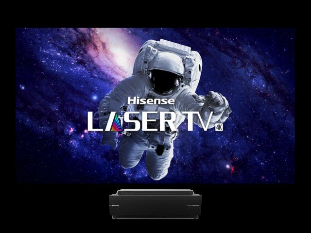 Téléviseur laser bicolore intelligent 4K UHD 120 po