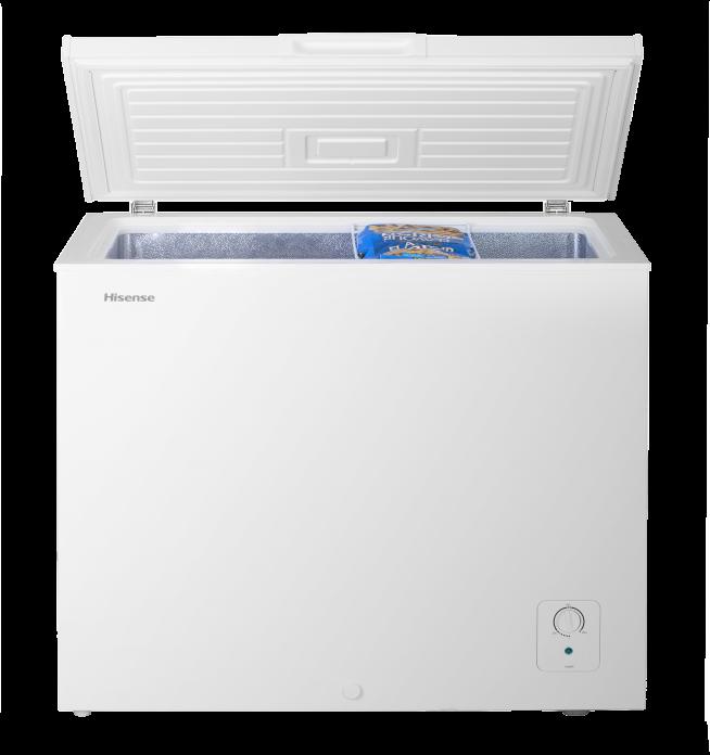 8 8 chest freezer hisense Front door open 0