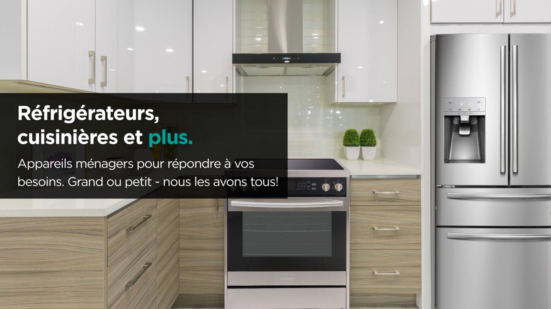 hisense slider home appliances french