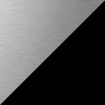 Acier inoxydable / Noir